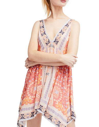 Free People Gypsey Trapeze Slip Dress-CREAM-X-Small