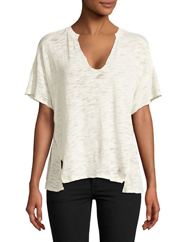Free People Maddie Tee-WHITE-X-Small