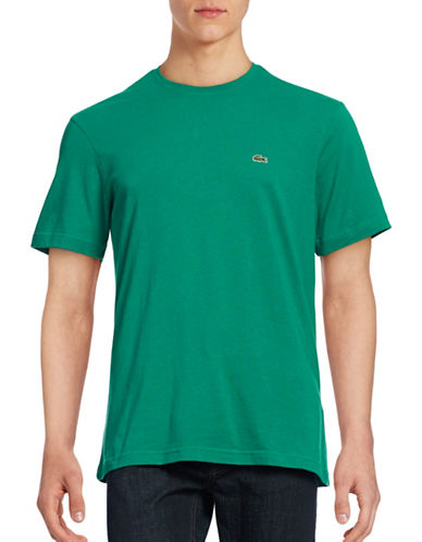 Lacoste Regular Fit Cotton T-Shirt-CHIVES-X-Large