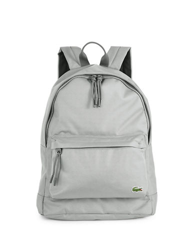 Lacoste Access Basic Backpack-LIGHT BLUE-One Size