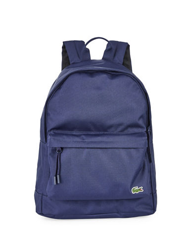 Lacoste Access Basic Backpack-BLUE-One Size