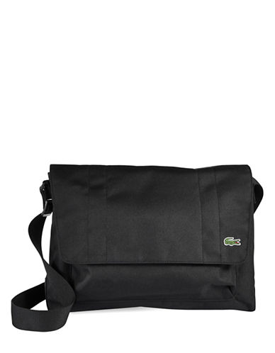 Lacoste Access Basic Crossbody Bag-GREEN-One Size