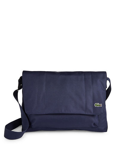 Lacoste Access Basic Crossbody Bag-BLUE-One Size