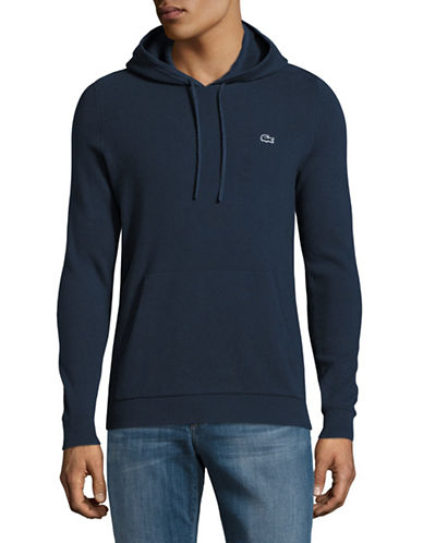 Lacoste Cotton Hoodie-BLUE-Medium 89034617_BLUE_Medium