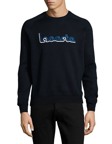 Lacoste Long Sleeve Logo Sweater-BLUE-Small 89034620_BLUE_Small