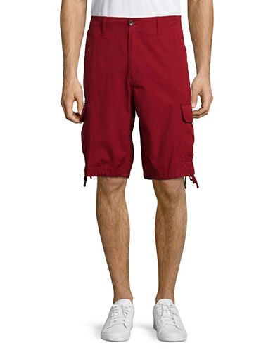 Lacoste Slim Fit Bermuda Shorts-RED-48