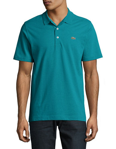 Lacoste Cotton Polo-DARK BLUE-Medium