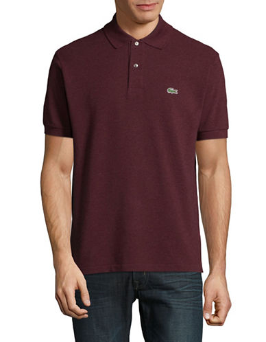 Lacoste Classic Polo Shirt-RED-Large