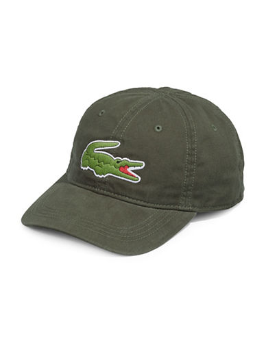 Lacoste Big Croc Cap-GREEN-One Size
