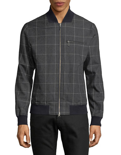 Lacoste Checked Zip Jacket-BLUE-Small 89500508_BLUE_Small