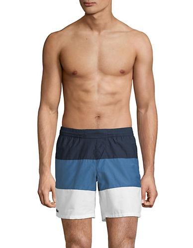 Lacoste Colourblocked Swim Shorts-BLUE-Medium 89955085_BLUE_Medium