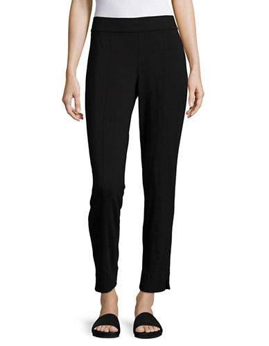 Eileen Fisher Jersey Slim Pants-BLACK-Small 89236414_BLACK_Small
