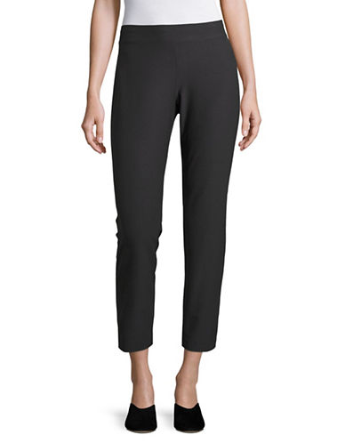 Eileen Fisher Stretch Slim Ankle Pants-GRAPHITE-Small 89043788_GRAPHITE_Small