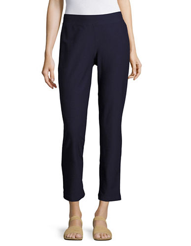 Eileen Fisher Stretch Slim Ankle Pants-BLUE-X-Small 89144782_BLUE_X-Small