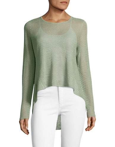 Eileen Fisher Sheer Crop Top-SEA-X-Small