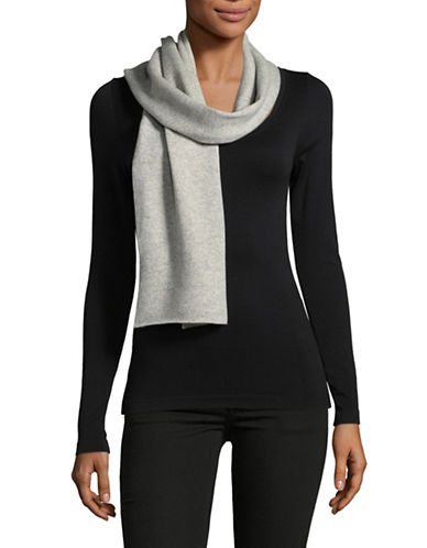 Eileen Fisher Ribbed Long Scarf-DARK PEARL-One Size