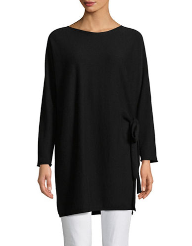 Eileen Fisher Cashmere Tunic-BLACK-Large