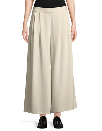 Eileen Fisher Wide Leg Pant-WHITE-X-Large