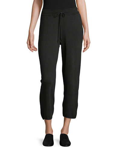 Eileen Fisher Stretch Wide-Leg Pants-CHARCOAL-Small