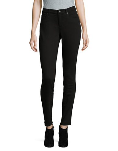 Eileen Fisher Cozy Stretch Skinny Jeans-BLACK-14