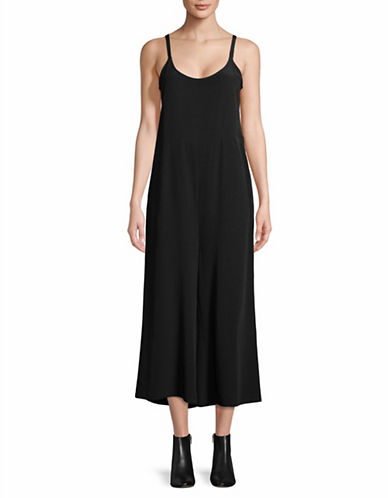 Eileen Fisher Tank Jumpsuit-BLACK-X-Small