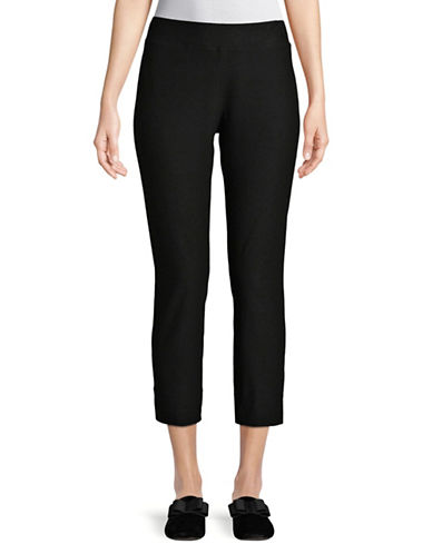 Eileen Fisher Slim Stretch Pants-BLACK-X-Large 89778432_BLACK_X-Large
