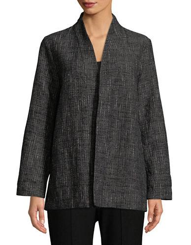 Eileen Fisher Organic Linen Kimono Jacket-BLACK-X-Small 90002170_BLACK_X-Small