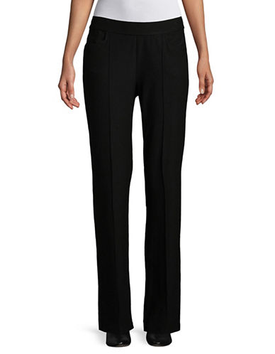 Eileen Fisher Slim Ankle Pants-BLACK-Medium 90002336_BLACK_Medium