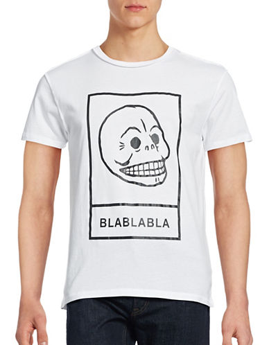 Cheap Monday Standard Logo T-Shirt-WHITE-Large 88857316_WHITE_Large