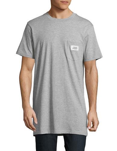 Cheap Monday Longline Pocket T-Shirt-GREY-Small 88612583_GREY_Small