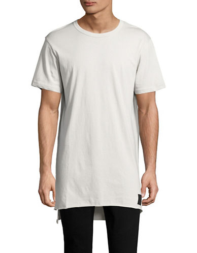 Cheap Monday Hero Step-Hem T-Shirt-GREEN-X-Small