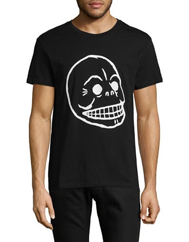 Cheap Monday Standard Skull T-Shirt-BLACK-Medium