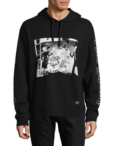 Cheap Monday Skull Party Hoodie-BLACK-Small 89314580_BLACK_Small