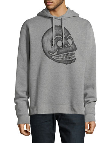 Cheap Monday Pullover Hoodie-GREY-Large
