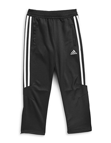 Adidas Climacool Stripe Sweatpants-BLACK-4