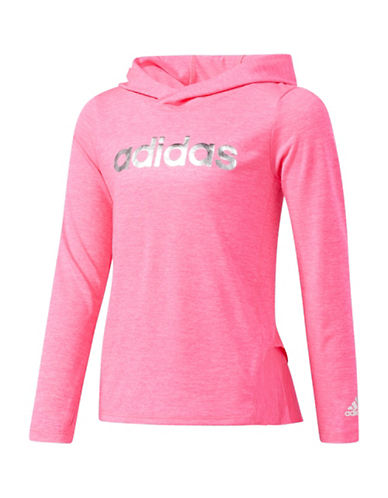 Adidas Lightweight Hoodie-PINK-4