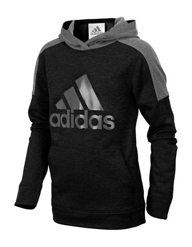 Adidas Indicator Fleece Hoodie-BLACK-5