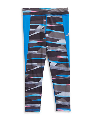 Adidas Printed Go With The Flow Leggings-GREY-2