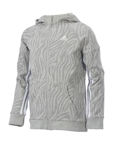 Adidas Animesha Stripped Jacket-GREY-6X