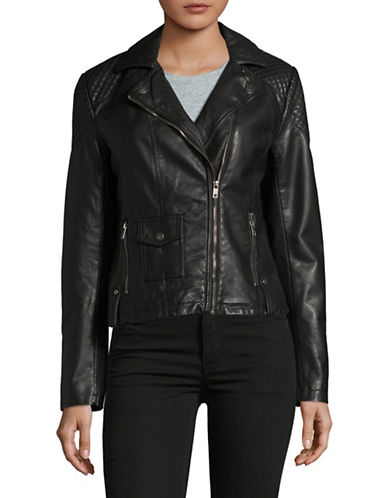 Tommy Hilfiger Moto Jacket-BLACK-Small 89441468_BLACK_Small