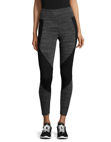Calvin Klein Performance Performance Stretch Leggings-GREY-Large