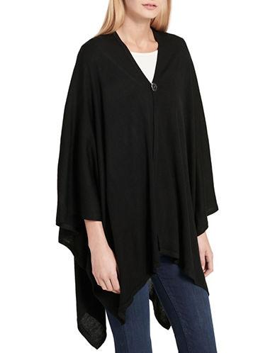 Calvin Klein Lightweight Ruana-BLACK-One Size