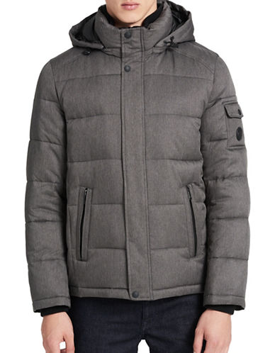 Calvin Klein Weather Resistant Puffer Jacket-CHARCOAL-Large 89277236_CHARCOAL_Large