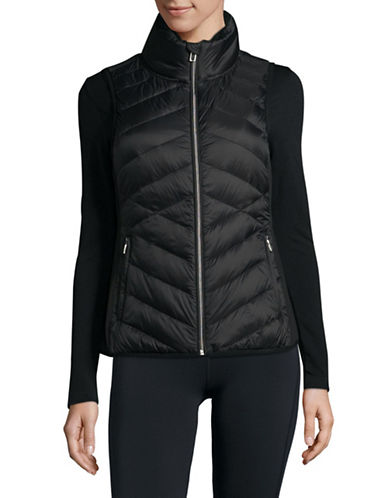 Calvin Klein Performance Down Fill Quilted Vest-BLACK-Medium 89572829_BLACK_Medium