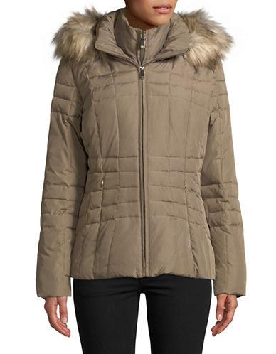 Calvin Klein Short Down-Filled Jacket-BEIGE-Medium 89810312_BEIGE_Medium