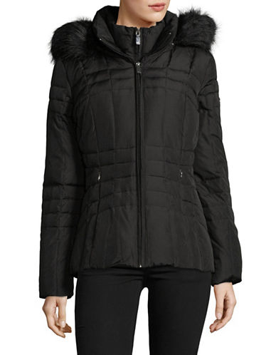 Calvin Klein Short Down-Filled Jacket-BLACK-Small 89810305_BLACK_Small