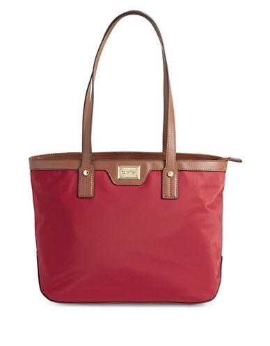 Calvin Klein Teodora Shoulder Bag-RED-One Size