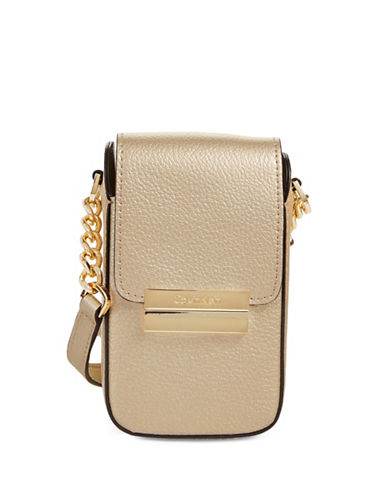 Calvin Klein Phone Crossbody-GOLD-One Size