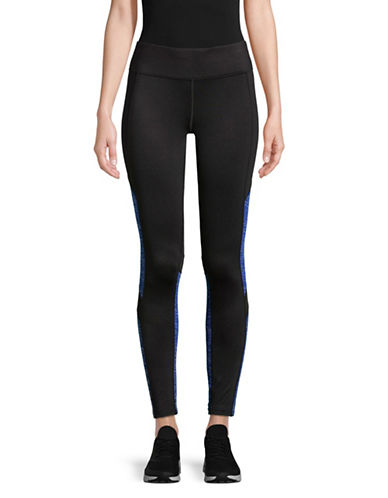 Calvin Klein Performance Performance Printed Leggings-BLUE-X-Large
