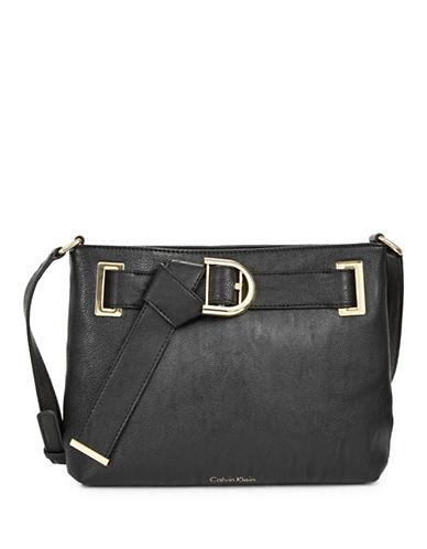 Calvin Klein Belted Crossbody-BLACK-One Size
